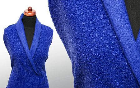 TKANINA BUKLE OSLO DAZZLING BLUE